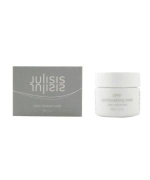 Julisis Srebrna mineralna maska